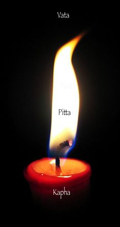 Dosha Think It's Time You Learned About Ayurveda? (love this candle image association)