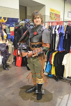 how to make a hiccup costume