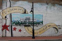 DC vote mural in Adams Morgan