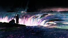 无聊图 - 蛋友贴图专版 Environmental Art, Color Theory, How To Feel Beautiful, Rafting, Location History, Mists, Waterfall, Scenery, Journey