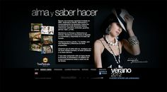 Tantrend.com Web 2008-2012. Website actualizable para cada tendencia de temporada. Diseño de web + catálogo online con acceso privado.