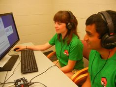 College students volunteer to voice audiobooks for Learning Ally, a non-profit that serves people who have print disabilities. You can volunteer as well! Student Volunteer, Dyslexia, Voice Actor, Non Profit, Disability, College Students, The Voice, Audiobooks, Wellness