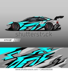 Find Racing Car Wrap Design Vector Graphic stock images in HD and millions of other royalty-free stock photos, illustrations and vectors in the Shutterstock collection. Thousands of new, high-quality pictures added every day. Car Wrap Design, Racing Car Design, Drift Trike, Car Painting, Stock Foto, Car Decals, Hot Cars, Custom Cars, Exotic Cars
