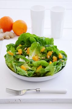 Orange Salad, Greek Recipes, Lettuce, Cabbage, Salads, Vegetables, Food, Recipes, Essen