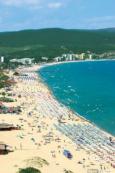 Sunny Beach, Bulgaria  A friend of mine is from Bulgaria and says it ig simply beautiful. Some day....