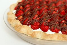 Yummy! A wonderful use for strawberries while they are so plentiful...