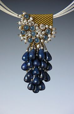 Beaded necklaces by Kay Bonitz