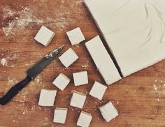 Get Alton Brown's Homemade Marshmallow recipe — works for both regular marshmallows and miniature marshmallows.