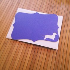 Grape dachshund note cards going on in the mail today. #dachshund #notecards #dog