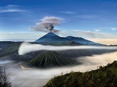 Mount Semeru and Mount Bromo, Java Island, Indonesia