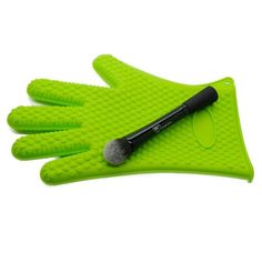#makeup #cosmetics #rccosmetics #powder #brushes #mineral #kabuki www.rc-cosmetics.com  #brushegg  #eyeliner #pen  #brushtree Amazon.com : Green Royal Brush Cleaning Glove From Royal Care Cosmetics : Beauty