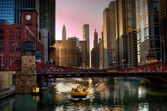 Chicago River at Dawn. Photo by Katie Heupel