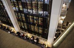 British Library Reading Hall, London, England