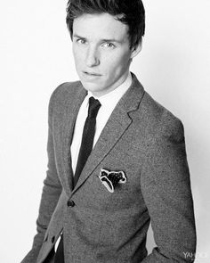 #EddieRedmayne in Topman Heritage suit for Yahoo Style, February 10, 2015.