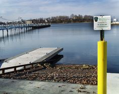 Public boat ramp access to Lake Erie at Put-in-Bay, Ohio.