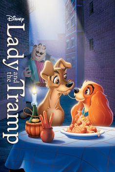 Kids movie collection: Lady and the Tramp.  This was the first video we bought for the boys way back in the early 1980s