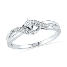 10KT White Gold Round Diamond Twisted Promise Ring (0.12 cttw)  http://stylexotic.com/10kt-white-gold-round-diamond-twisted-promise-ring-0-12-cttw-2/
