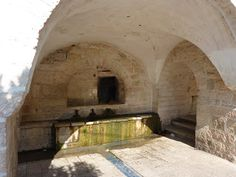 Mary's Spring - Ein Kerem: outside of Jerusalem www.ffhl.org #Franciscan #HolyLand