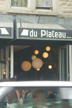 Luminaires à Montréal, photo Grège.