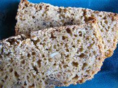 Polenta & maizemeal sourdough bread