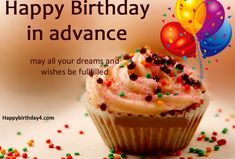 Best birthday wishes quotes for a friend guys 31 Ideas Advance Happy Birthday Wishes, Best Birthday Wishes Quotes, Birthday Wishes For Brother, Birthday Quotes For Best Friend, Happy Birthday Sister, Happy Birthday Messages, Happy Birthday Images, Friend Sayings, Birthday Message For Friend