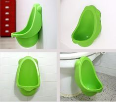 Kids Toddler Boys Urinal. Just ordered my boy 2 of these after threee accidents from him peeing on the tiolet standing beside it!