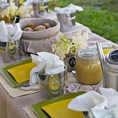 U Pick Party!  Have at a farm and kids experience fresh picked fruits and vegetables.