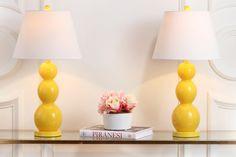 Jayne H Three Sphere Glass Lamp (Set of - Safavieh Mercury, Living Room End Tables, Incandescent Light Bulb, Virginia Homes, Master Bedroom Makeover, Table Lamp Sets, Affordable Furniture, Glass Ball, Drum Shade