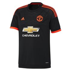 The 2015-16 Adidas Manchester United jersey will look great on fans of any age. This youth Manchester United 3rd jersey features a great black and red design. Get your new Manchester United soccer jersey today at SoccerCorner.com.  http://www.soccercorner.com/Adidas-Manchester-United-Youth-Third-15-16-Jerse-p/ttyadac1448.htm