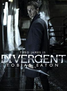 Funny because it says Theo James is divergent Tobias eaton when he actually isn't divergent