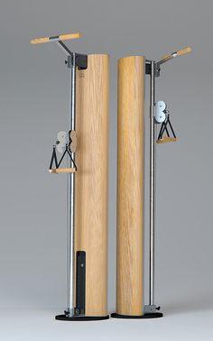 SlimBeam Cable Machines - Design Cable Machine by NOHrD SlimBeam Cable Machines - The Design Cable Machine by NOHrD<br> NOHrD SlimBeam - The Design Cable Machine: combining a stylish, sharp design with a sleek body. SlimBeam is made of high-quality wood. Home Gym Basement, Home Gym Garage, Diy Home Gym, Gym Room At Home, Home Gym Decor, Workout Room Home, Workout Rooms, Gym Shed, Diy Gym Equipment