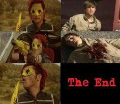 Gerard Way killing Justin Beiber...