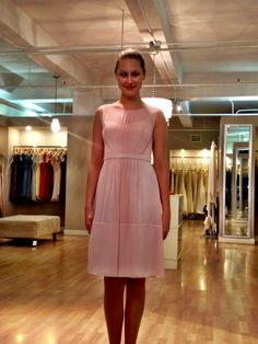 This is my bridesmaid dress - by Jenny yoo in blush