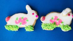 Create adorable cookies for Easter. Recipes on blog.