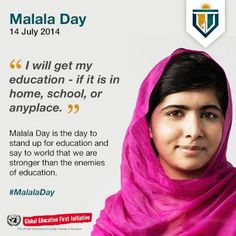 Celebrating #MalalaDay. Learn more about the day here:http://bit.ly/1qkR97J