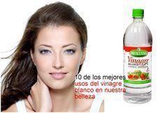 10 usos del vinagre blanco que no conocías para lucir más bellas ~ Manoslindas.com