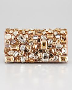 プラダ Jeweled Clutch Bag