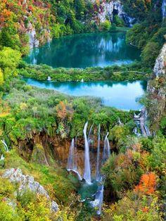 プリトヴィッチェ湖群国立公園  クロアチア