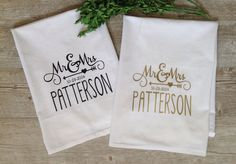 Custom Tea Towels for every occasion. Order your personalized tea towel at Boardman Printing. Visit Facebook/BoardmanPrinting