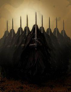 Nine Kings Taken by the Ring