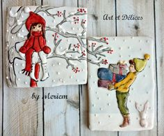 Happy Christmas! By Art Et Délices http://www.facebook.com/artetdelicesbymeriem
