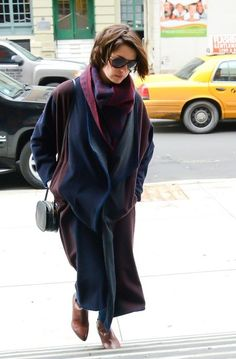 Anne Hathaway is seen on January 20, 2015 in New York City.