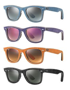 beb374036e The iconic Ray Ban Wayfarer just got a lot more rugged thanks to the New  Wayfarer Denim. Available in different cool colors