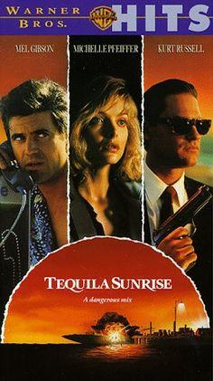 Tequila sunrise Mel Gibson,Michelle Pfeiffer,Kurt Russell and Raul Julia (we miss u Raul) Mel Gibson, Michelle Pfeiffer, Tequila Sunrise 1988, Tequilla Sunrise, Streaming Movies, Hd Movies, Movies And Tv Shows, Pixar Movies, Hd Streaming