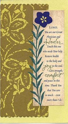 Prayers For Healing:Holly Monroe Calligraphy Lord Great Physician and Healer Get Well Card Prayers For Strength And Healing, Pray For Strength, Healing Scriptures, Prayer Verses, Bible Prayers, Faith Prayer, God Prayer, Prayer Quotes, Power Of Prayer