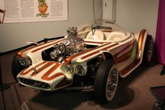"The Beatnik Bandit is a custom car created in 1961 by ""Big Daddy"" Ed Roth, originally as a project for Rod & Custom magazine."