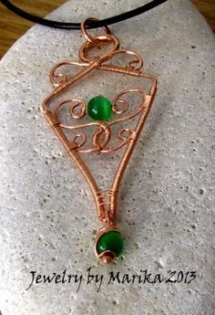 Wire Wrapping Tutorial To Make A Pendant