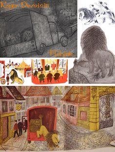 Roger Duvoisin Mid-Century Illustrator Part 1 Roger Duvoisin, Vintage Children's Books, Children's Book Illustration, Illustrations Posters, Childrens Books, Illustrators, Book Art, Mid Century, Picture Books