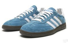 ee6cede989d Adidas Handball Spezial Blue/Running White Walk In My Shoes, Kicks Shoes,  Handball