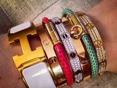 i want all. #cartier #hermes #someonepleasebuyforme